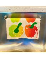 Magnetic Dish Cloth Rail: Great for so many applications