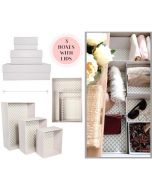 Hikidashi Organizer set of 6! Beautify and organize your spaces!