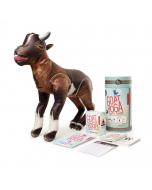 Kikkerland Goat Yoga Party Game: Betcha don't have this game!