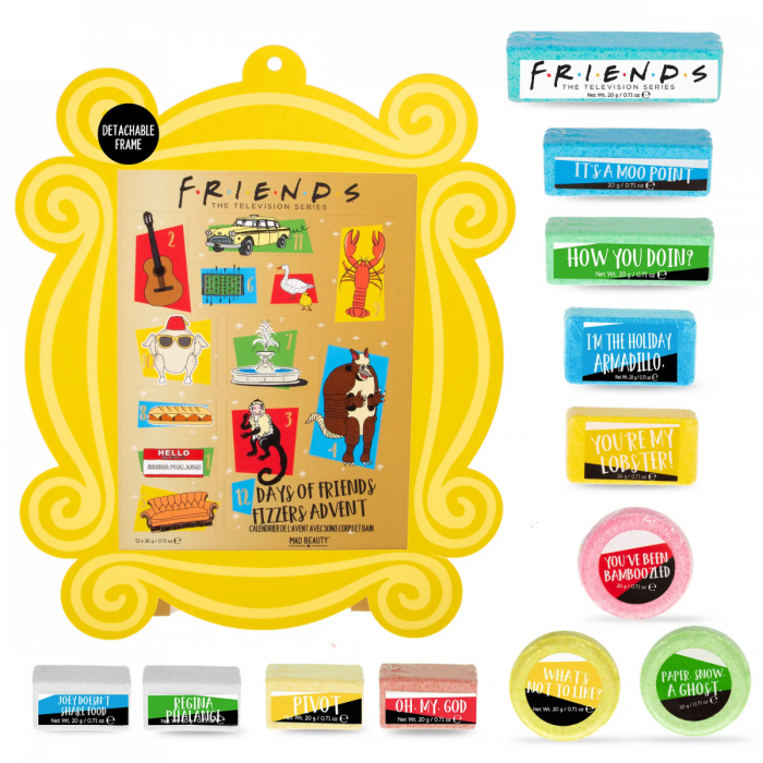 Another great AUTHENTIC & Licensed 12 Days of Friends Advent Calendar!