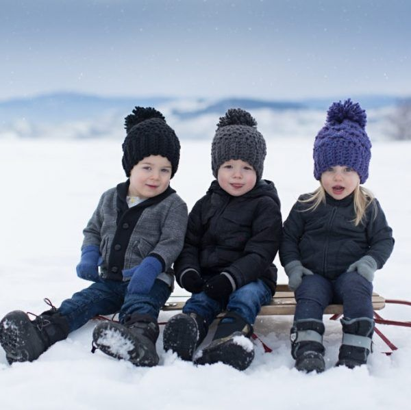 Canadian Frost kids winter hats main