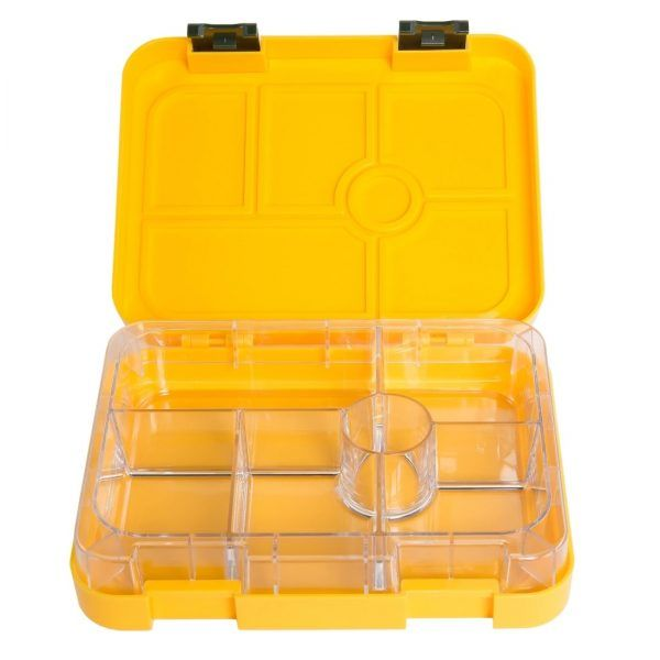 Fun to go 6 compartment yellow