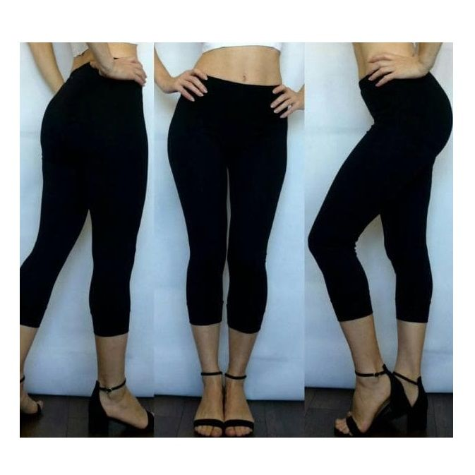 Leggings black capris