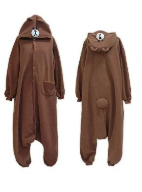 Onesie brown bear
