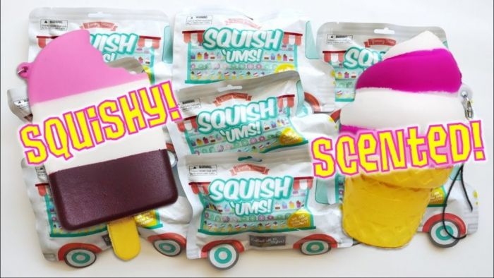 Squishems yummy series 2
