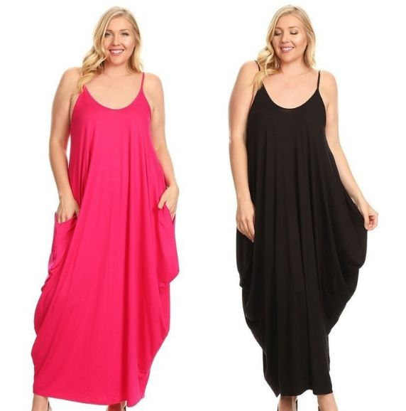 american fit maxi plus dresses