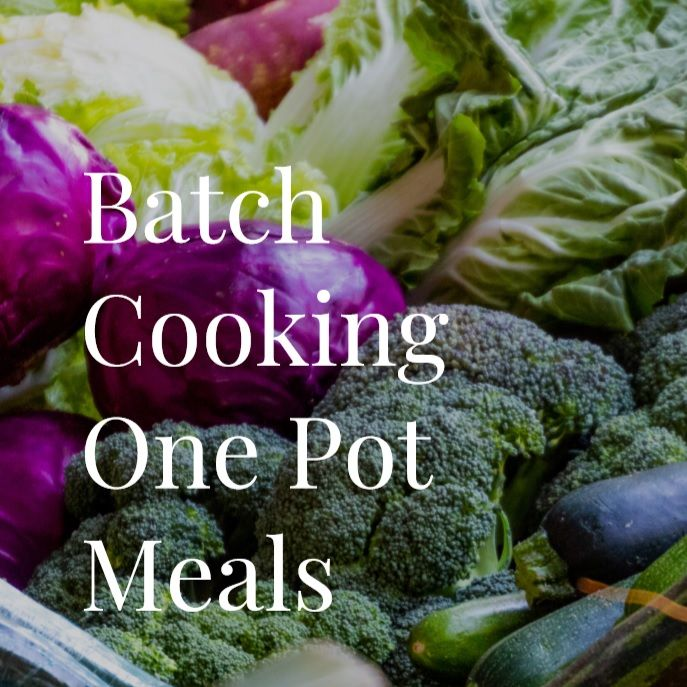 BOREDOM BUSTER DIGITAL DOWNLOAD: Batch Food Prep #1: Everything you need in one place!
