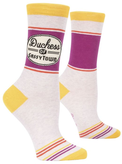 BLUE Q Womens Socks: Cheeky and Sweary!