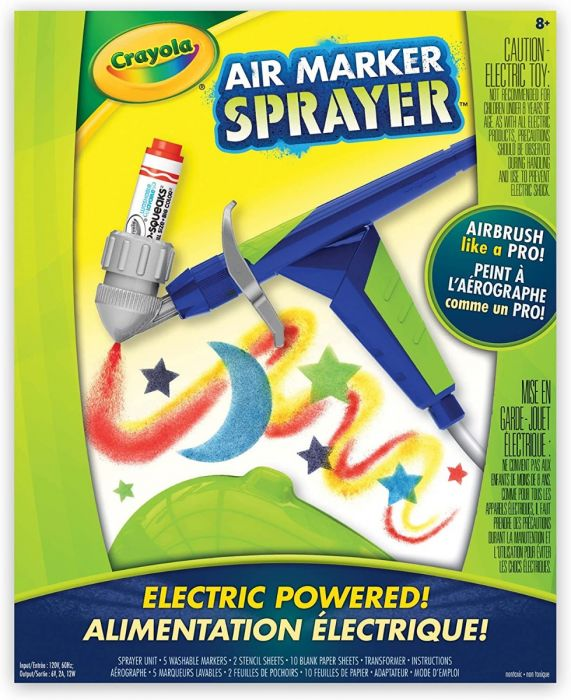 Crayola Air Marker Sprayer: Spray the creativity!