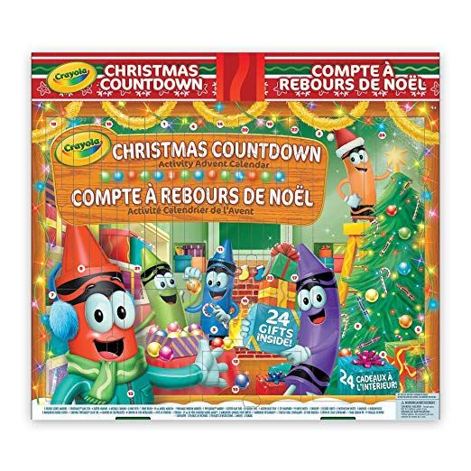 crayola advent calendar 1