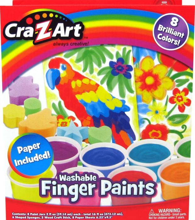 Cra Z Art Washable Finger Paints