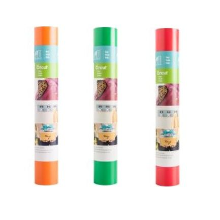 cricut 3 pack red kelly green orange