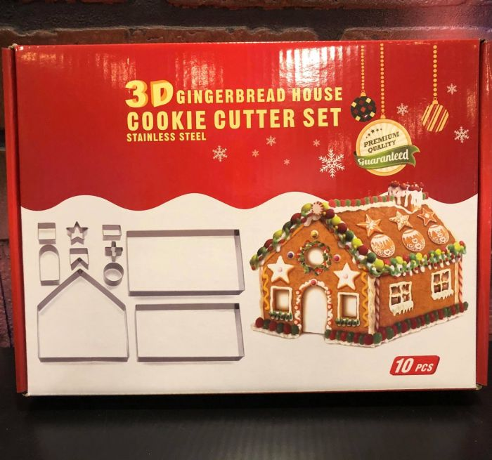 DIY Gingerbread House Making Kit: Make yours with cookie dough, PIZZA dough, shortbread and more!