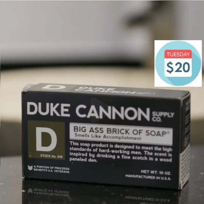 Duke Cannon Big Ass Brick of Soap! Pick your fave!
