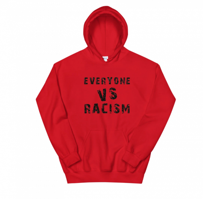EVERYONE vs RACISM: Socially Conscious Hoodies for all by Apple & Tree Tees