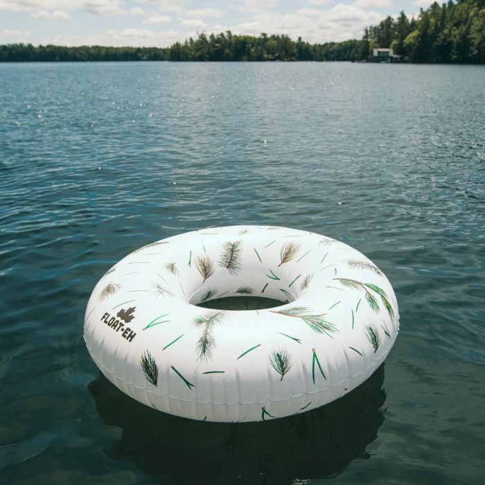 Float-eh Canadian JUMBO Inflatables! Fresh Pine Float