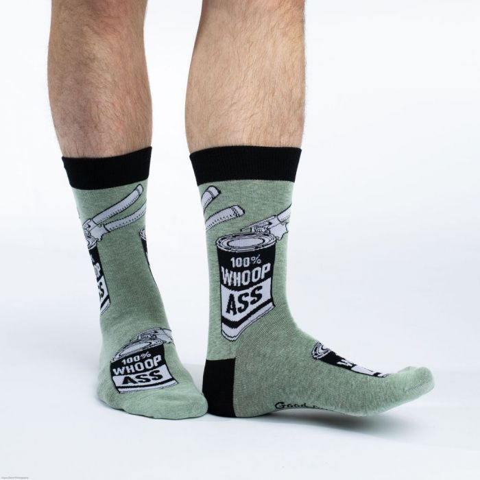 Good Luck Socks: Mens Crew