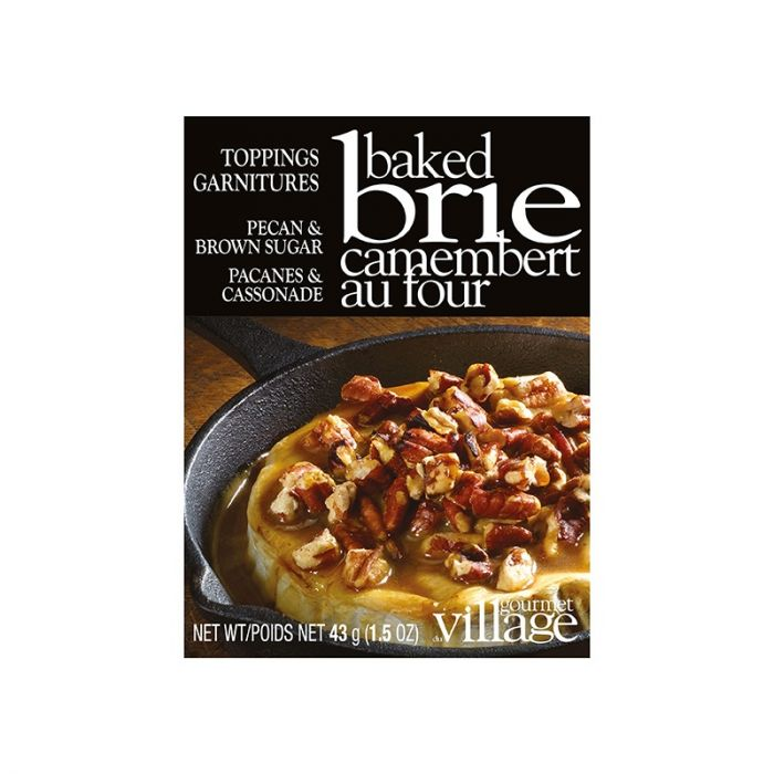 Gourmet Village Brie Toppers: Step up your baked cheese game!
