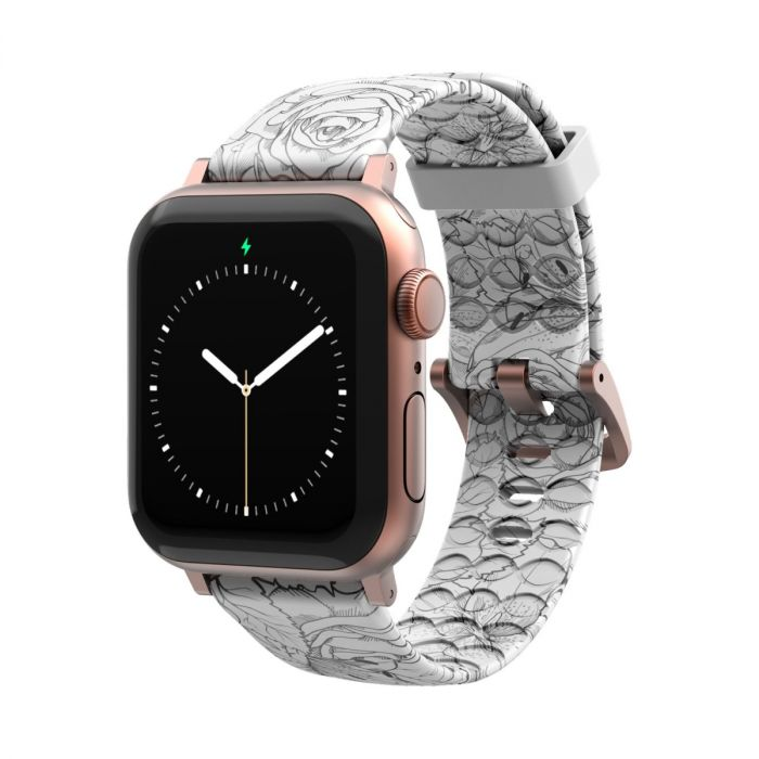 Groove Life Silicone Apple Watch Straps: Grooved for breathability & fits all Apple Watches!
