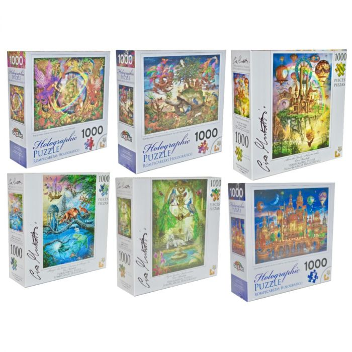 PUZZLES! 1000pc Holographic