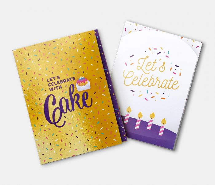 InstaCake Cards: GLUTEN FREE! Card and Cake together!