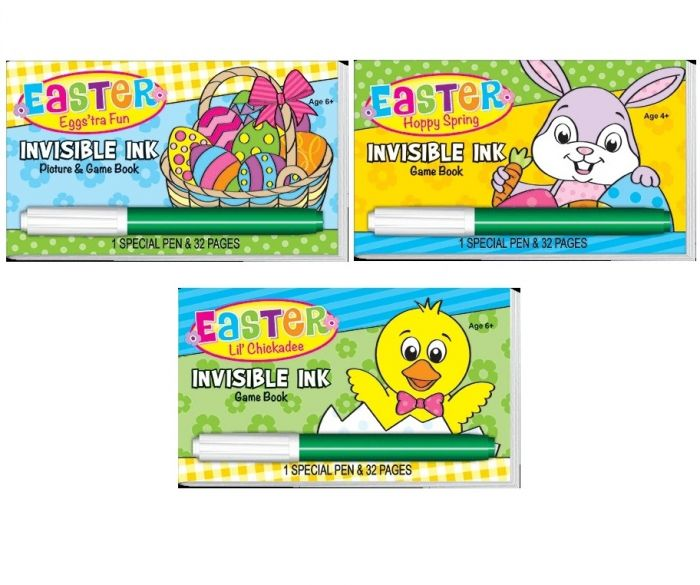 Invisible Ink Easter Variety Pack