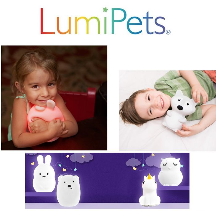 Authentic LUMIPETS! Soft silicone LED multicolour lights for any room!