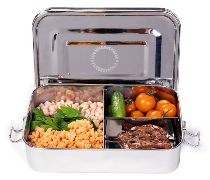 Life Without Waste Stainless Steel Bento Lunch Box