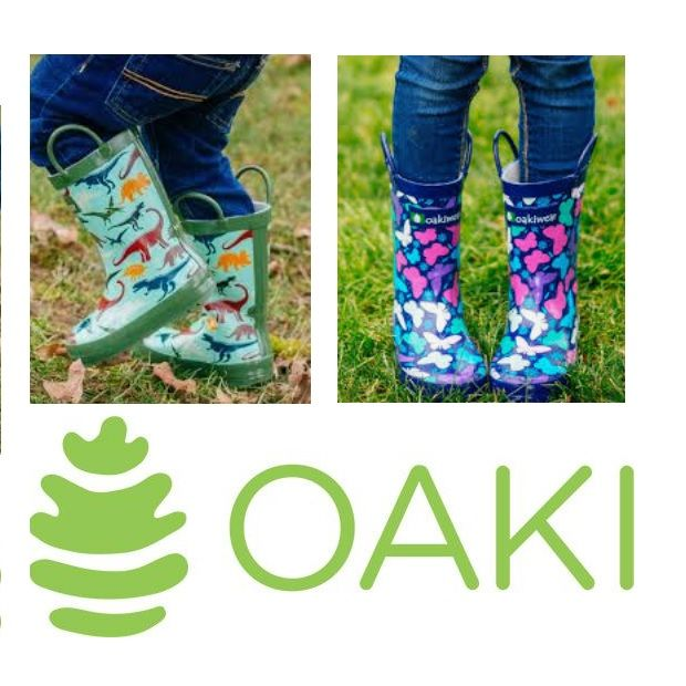 oaki kids rubber boots