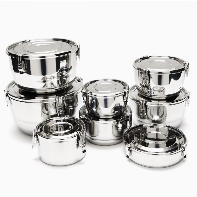 ONYX CONTAINERS: Stainless Steel air-tight food storage & more!