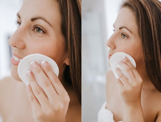 Organic Cotton  Reusable Face Cleansing Rounds