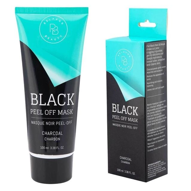 Relaxus Spa Black Charcoal Peel off Mask: clean those pores!