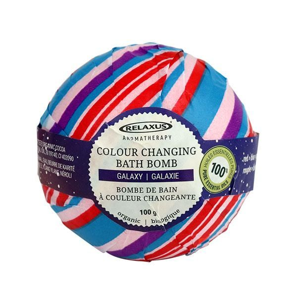 Colour Changing Organic Bath Bombs infused with Essential oils!