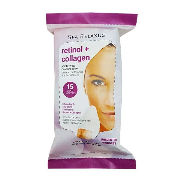 Relaxus Spa Age Defying Cleansing Wipes