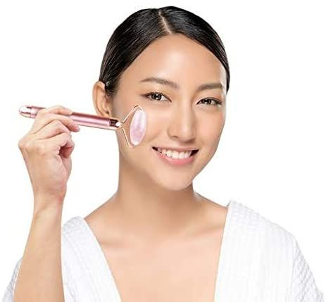 Relaxus Vibrating Rose Quartz Facial Roller: The latest for your face!