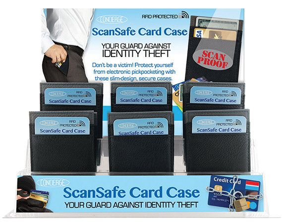 scansafe mens card case