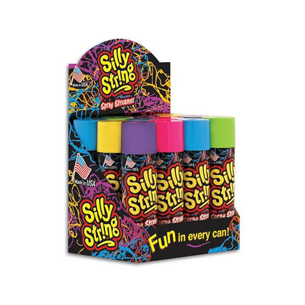 silly string box