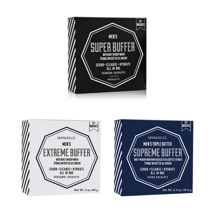 Spongelle Infused Body Wash Buffers: Masculine scents 12+ washes