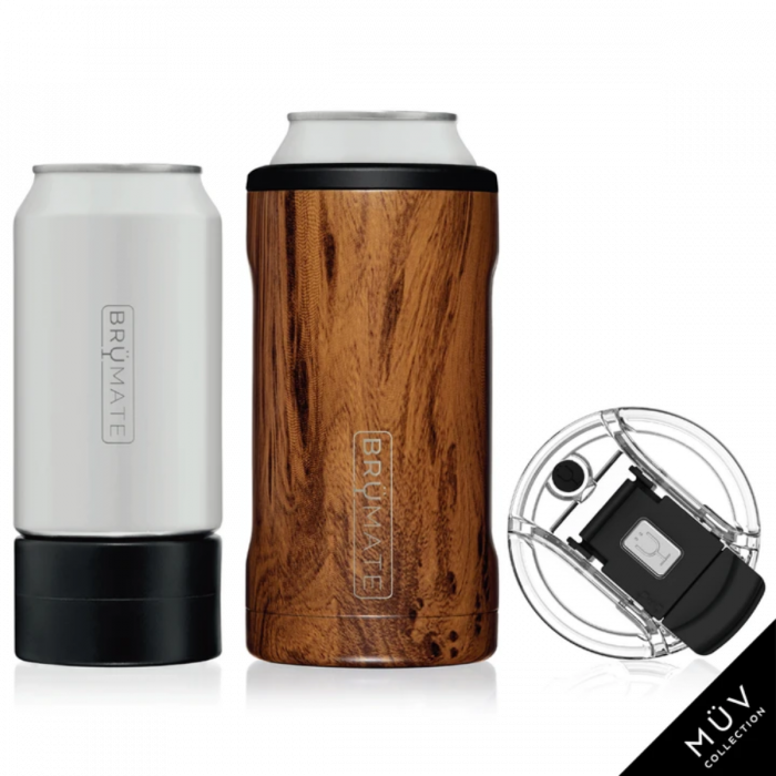 BruMate Hopsulator Trio 3-in-1! Patented, its a cup and holds your beer/pop/coolers!