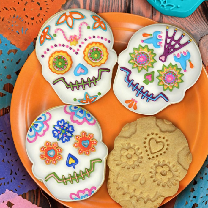 Sweet Spirits-Cookie stamps for Day of the Dead-Set of 4!!