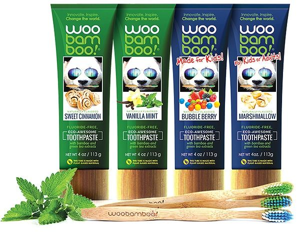 WooBamboo Natural Toothpaste for all!