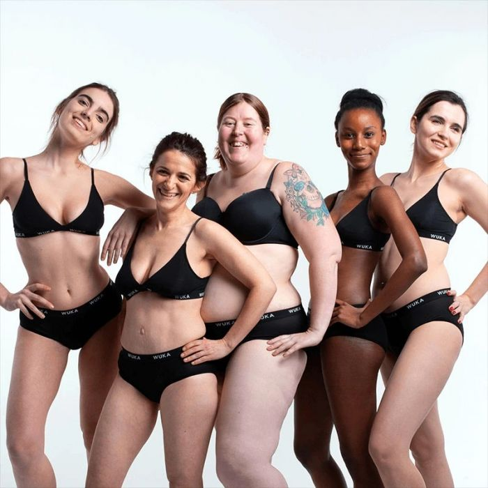 WUKA Menstruation Underwear for all ages and sizes! Heavy Flow!
