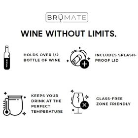 BruMate Uncork'd Wine Tumblers! *Rebate Program!*