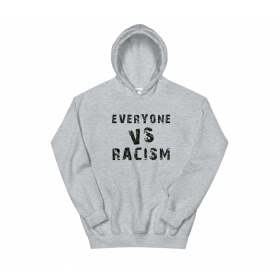 RACISM vs EVERYONE: Socially Conscious Hoodies for all by Apple & Tree Tees