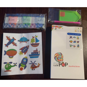 Cutie Pops Kids Diamond Art Sticker Sets