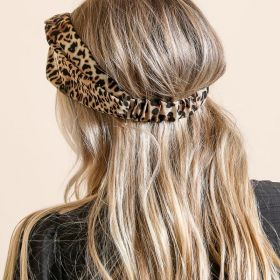 Boho Chic with the Leopard HeadWrap