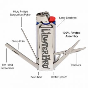 LighterBro MultiTool: handy for any toolbox, glovebox, trailer & more!