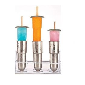 ONYX STAINLESS STEEL POPSICLE MOLDS!