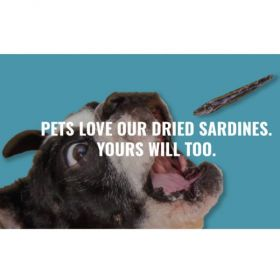Dried Sardines for Cats and Dogs by Only One Treats