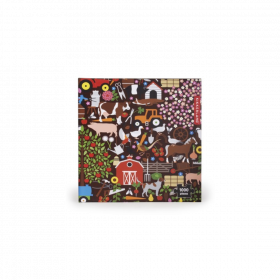 Puzzles!! 1000pc puzzles from Kikkerland Artists and Designs